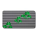 Houndstooth Leaf Medium Bar Mats