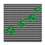 Houndstooth Leaf Face Towel