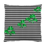 Houndstooth Leaf Standard Cushion Case (Two Sides)