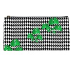 Houndstooth Leaf Pencil Case