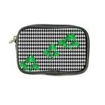 Houndstooth Leaf Coin Purse