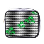 Houndstooth Leaf Mini Toiletries Bag (One Side)