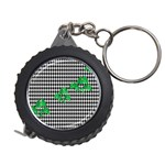 Houndstooth Leaf Measuring Tape