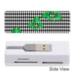 Houndstooth Leaf Memory Card Reader (Stick)