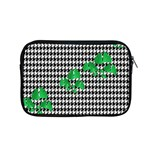 Houndstooth Leaf Apple MacBook Pro 15  Zipper Case