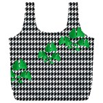 Houndstooth Leaf Full Print Recycle Bag (XXXL)