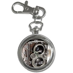 Rolleiflex camera Key Chain Watch from ArtsNow.com Front