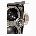 Rolleiflex camera Greeting Card from ArtsNow.com Left