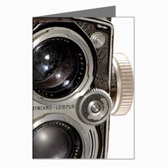 Rolleiflex camera Greeting Cards (Pkg of 8) from ArtsNow.com Left