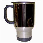 Rolleiflex camera Travel Mug (Silver Gray) from ArtsNow.com Left
