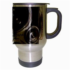 Rolleiflex camera Travel Mug (Silver Gray) from ArtsNow.com Right