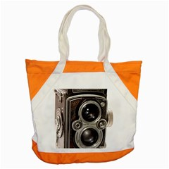 Rolleiflex camera Accent Tote Bag from ArtsNow.com Front