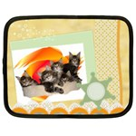 Maine coone kittens Netbook Case (Large)