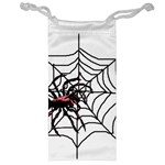 Spider in web Jewelry Bag
