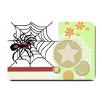 Spider in web Small Doormat