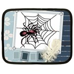 Spider in web Netbook Case (Large)
