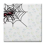 Spider in web Face Towel