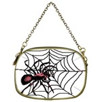 Spider in web Cosmetic Bag (Two Sides)
