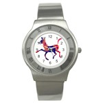 Funny Donkey Stainless Steel Watch