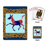 Funny Donkey Playing Cards Single Design