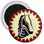 Horse head 3  Magnet