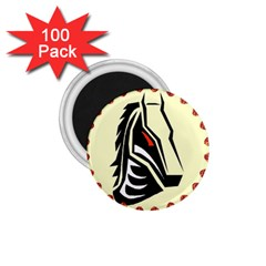 Horse head 1.75  Magnet (100 pack)  from ArtsNow.com Front