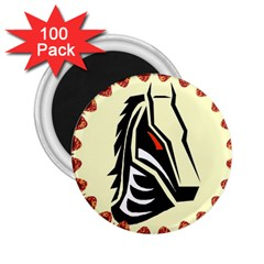 Horse head 2.25  Magnet (100 pack)  from ArtsNow.com Front
