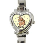 Cheeky pony Heart Italian Charm Watch