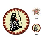 Horse head Playing Cards (Round)