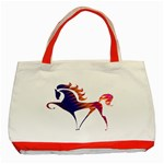 Prancing horse Classic Tote Bag (Red)
