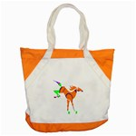 Bucking horse Accent Tote Bag