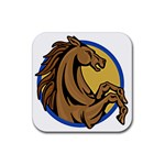 Horse circle Rubber Coaster (Square)