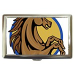 Horse circle Cigarette Money Case