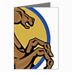 Horse circle Greeting Card