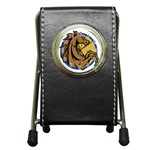 Horse circle Pen Holder Desk Clock