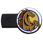 Horse circle USB Flash Drive Round (4 GB)