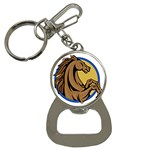 Horse circle Bottle Opener Key Chain