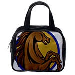 Horse circle Classic Handbag (One Side)