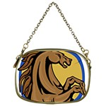 Horse circle Cosmetic Bag (One Side)