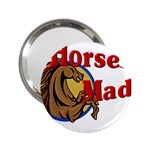 Horse mad 2.25  Handbag Mirror