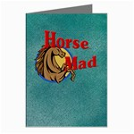 Horse mad Greeting Card