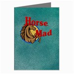 Horse mad Greeting Cards (Pkg of 8)