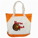 Horse mad Accent Tote Bag