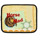 Horse mad Netbook Case (Large)