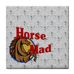 Horse mad Face Towel