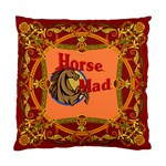 Horse mad Cushion Case (One Side)