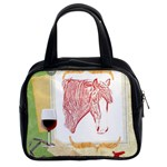 clyde head 2 - Classic Handbag (Two Sides)