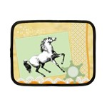 Vintage horse 1 Netbook Case (Small)