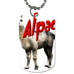 Alpaca Dog Tag (Two Sides)
