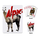 Alpaca Playing Cards Single Design
